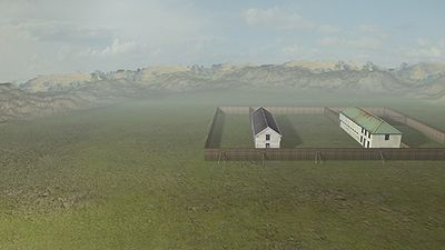 3D Reconstruction of Stockade by Raysan Kubaisi with Clough and Associates Ltd